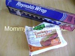 aluminum and hotdogs