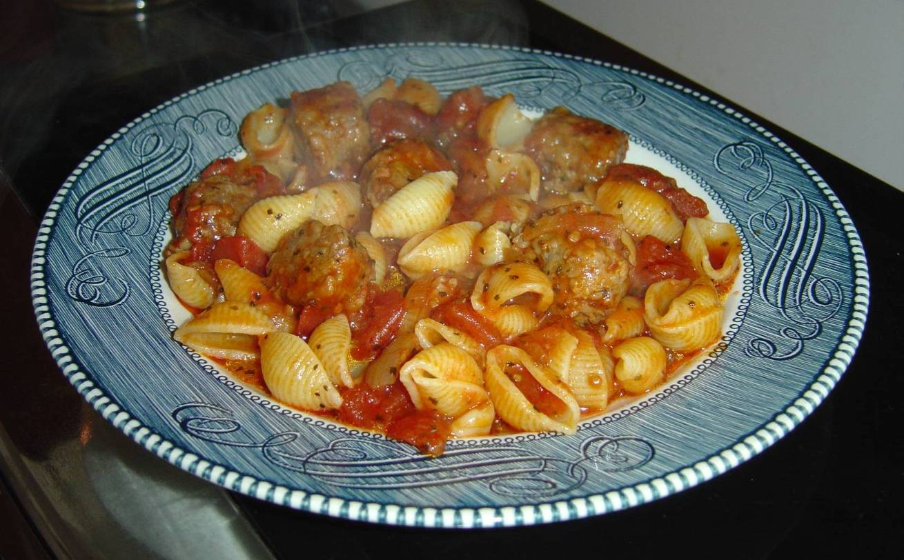 My Hot Italian Sausage Casserole