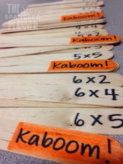 Multiplication Game, Multiplication Activity, Multiplication Kaboom!