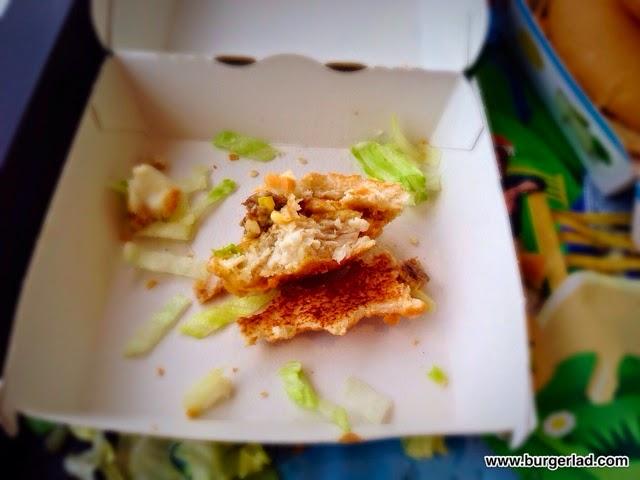 McDonald's Land, Sea and Air Burger