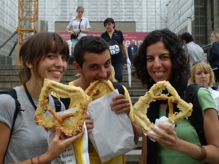 come pretzels en tu viaje a Berlín