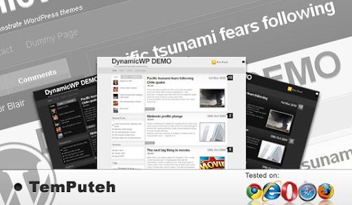 Temputeh Most Wanted Portal WordPress Theme