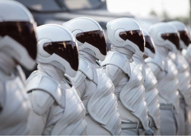 A shot of the Peacekeepers from the movies.