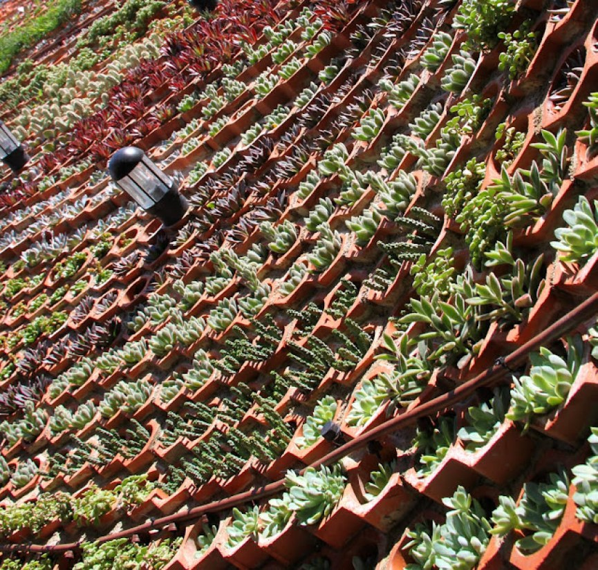 Jardín vertical sistema Eco Bin