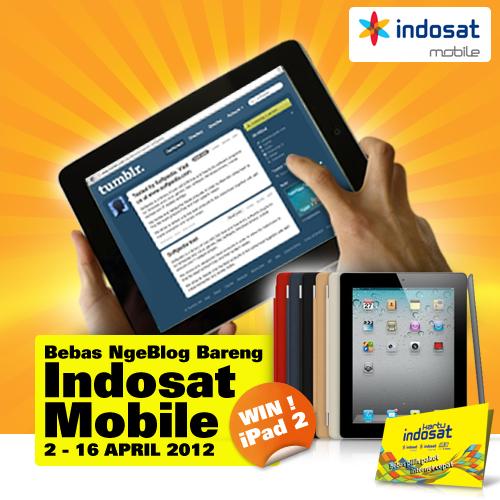 Bebas Ngeblog Bareng Indosat