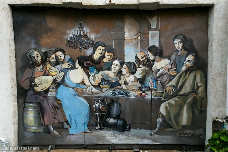 Заказное граффити Тель Авива
