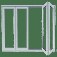 Model Pintu Lipat UPVC
