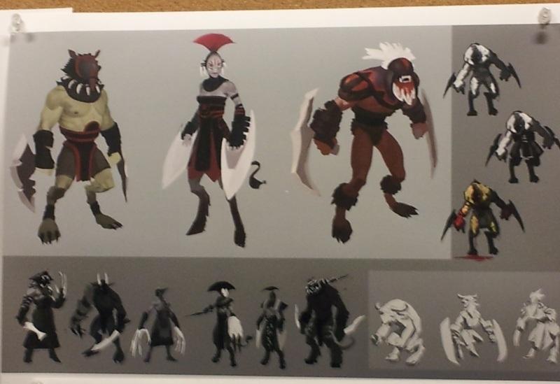 Official Dota 2 Concept Art By Valve Artist Mark Behm DotA2