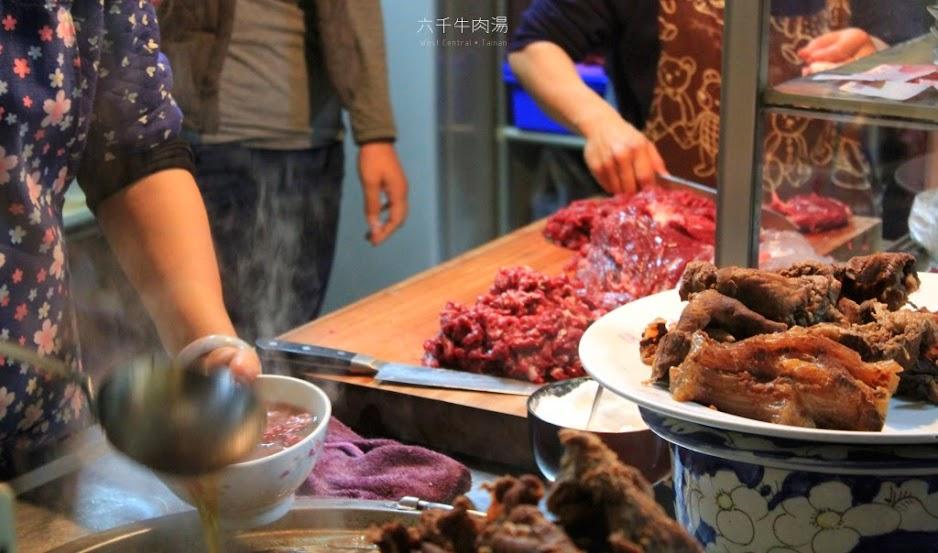 台南早餐,六千牛肉湯-2