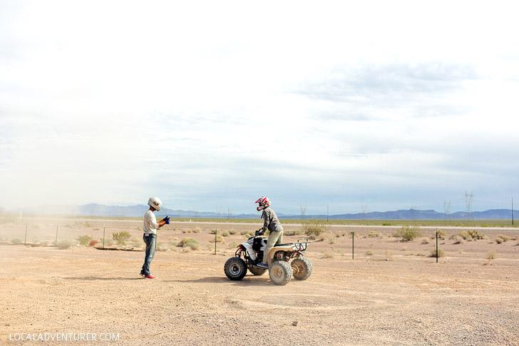 ATV Ride // Cool Things to Do in Vegas.