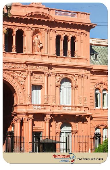 Casa Rosada official presidential building in Buenos Aires