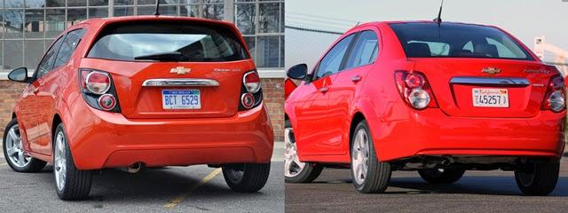Chevlolet Sedan VS Hatchback