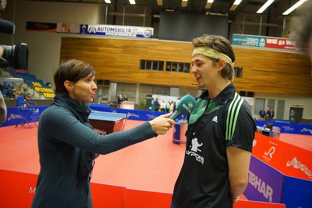 BK Lauric Jean bij Inge Van Meensel van Sporza