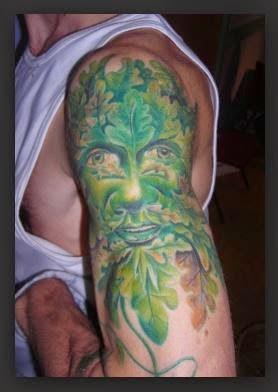 Green Man Tattoos
