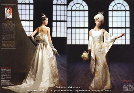 Japanese Wedding Dresses Beyond The Kimono: Western-Style