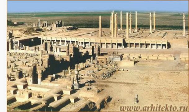 Зал ста колонн в Персеполе