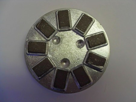 diamond cutter used on the mosaic shlifovannyj machines