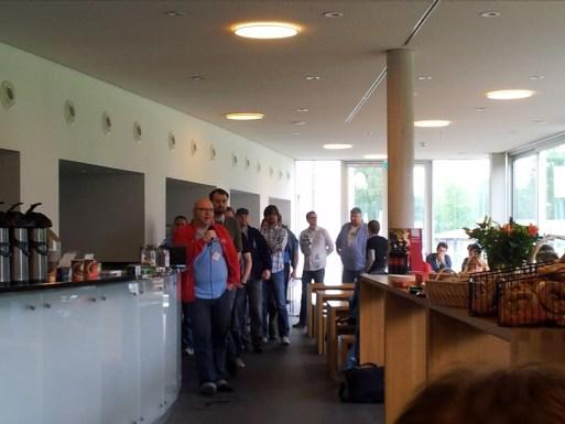 Bild von der Sessionplanung am Sonntag auf dem Barcamp Bodensee 2012