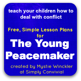 young peacemaker lesson plans