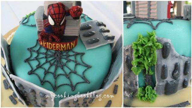Торта на тема Спайдермен