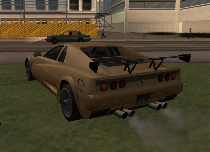 Cheetah modificado em GTA San Andreas