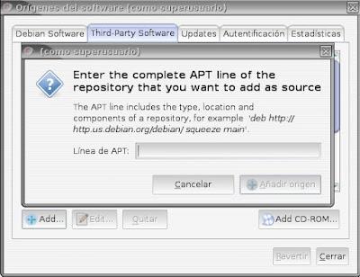 Instalar la última versión de Chromium en Debian (2/2)