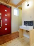玄関ホール&洗面コーナー
