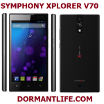 Symphony Xplorer V70: Android Specifications And Price