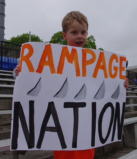 Feel the Rage! Rampage! (1/3)