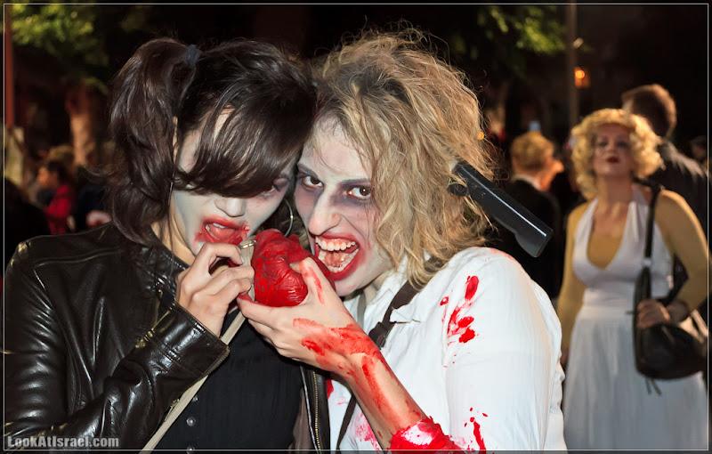 Парад зомби в Тель Авиве - Zombie Walk TLV 2012