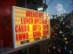 Crawford's Guns, Ammo & Restaurant