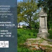 Dalsza renowacja cmentarza ewangelickiego w Ciechocinku (Słońsk Górny)