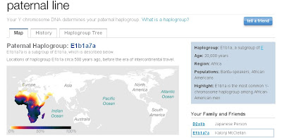 23AndMe Results: Kalonji's Paternal Haplogroup – Taneya's