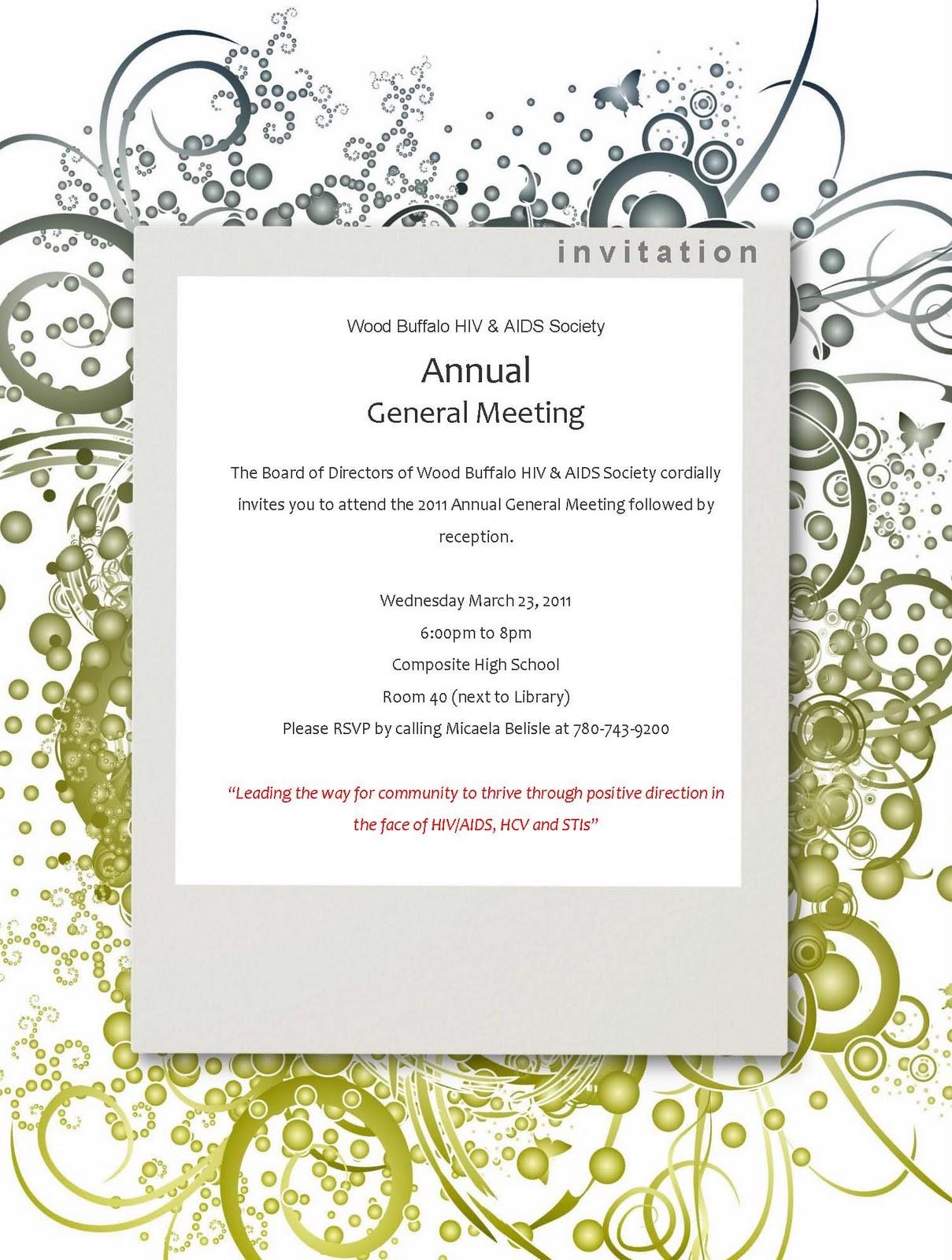 Volunteer Appreciation Invitation