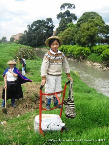 Gente de agua, Humedal La Libélula