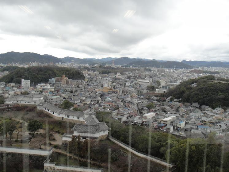 Himeji Town from Egret's eye