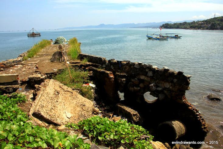 dermaga rusak pelabuhan ratu