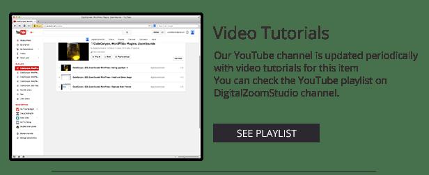 Video Gallery WordPress Plugin /w YouTube, Vimeo, Facebook pages - 7