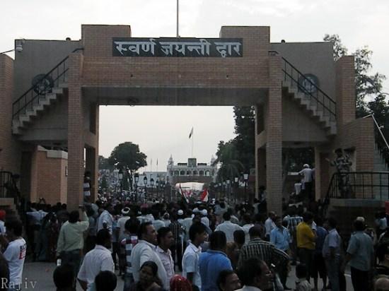 wagah border gate