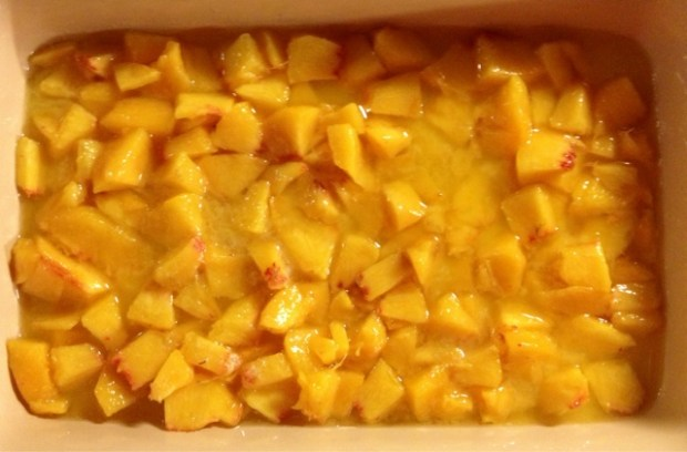 peaches in butter