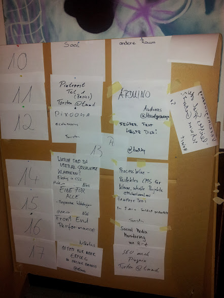 Sessionplan vom Summercamp Alfeld