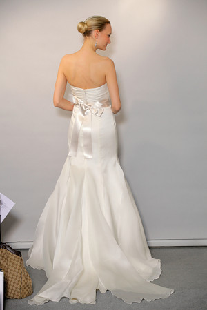 Wedding Dress with Satin Belt