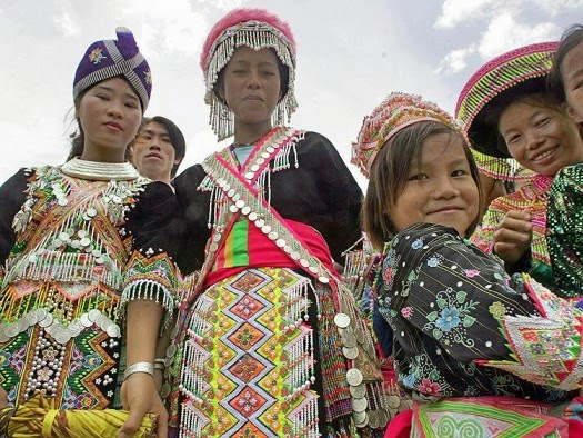 Hmong women pass down their people's history in unique and rich embroidery and thus preserve their cultural heritage despite the discrimination the Hmong people still face today. (PORNCHAI KITTIWONGSAKUL/AFP/Getty Images)