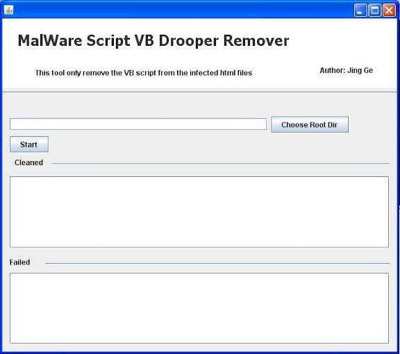 Scan HTML DROP AGENT