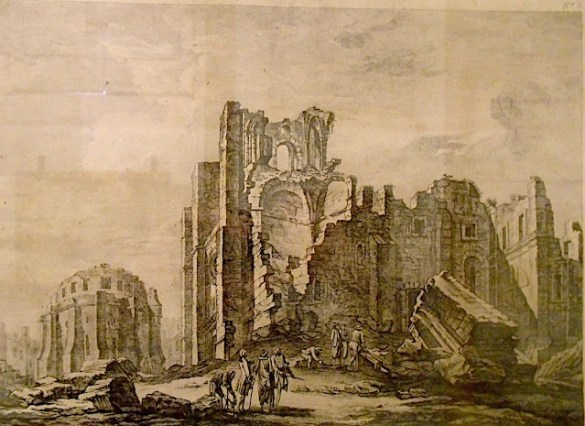 Terremoto de Lisboa, en 1755.