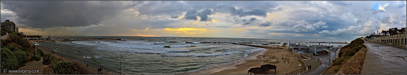 Фото: Панорама: Тель Авивская набережная