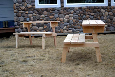 Ana White Build A Picnic Table That Converts To Benches