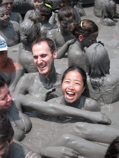 Jack and Jill in the mud volcano, Colombia
