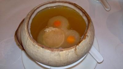 Conpoy Soup
