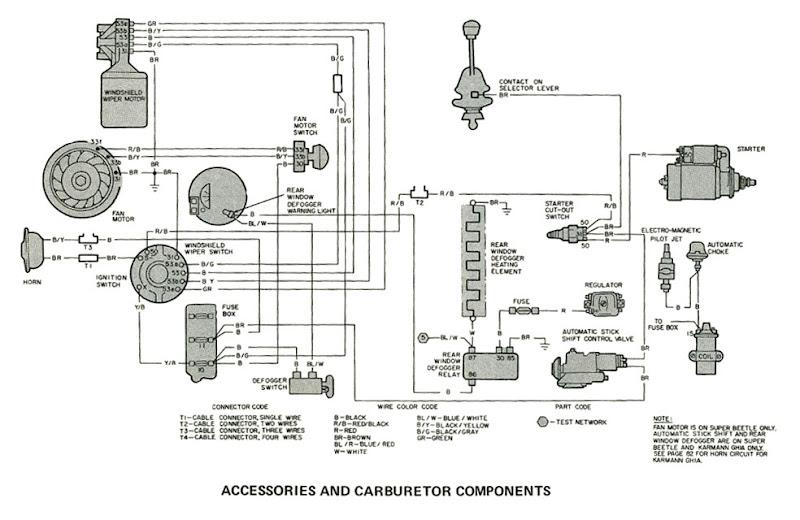 66 Vw Bug Wiring Diagram on Vw Beetle Horn Wiring